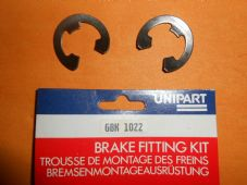 E CLIPS to fix LOCKHEED TYPE WHEEL CYLINDERS x2 - GBK1022